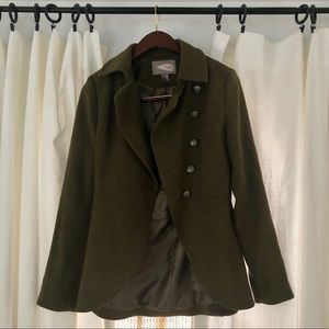 Forever 21 love 21 olive green army jacket small